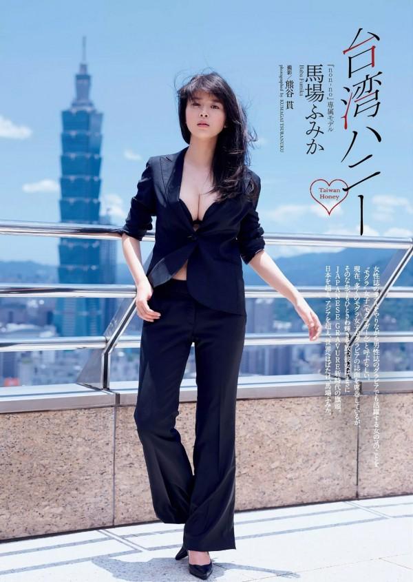映画主演務めるnon-noモデル馬場ふみかが台湾でチャイナドレス着てお○ぱい谷間