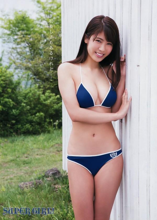 ポッキーCM出演してた18歳美少女・澤北るな、水着メイキングが爆乳揺れすぎ